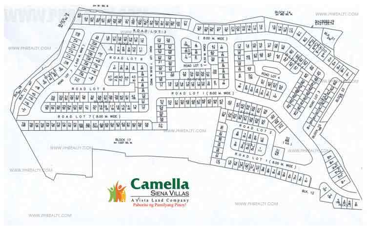 Sienna Villas - Site Development Plan