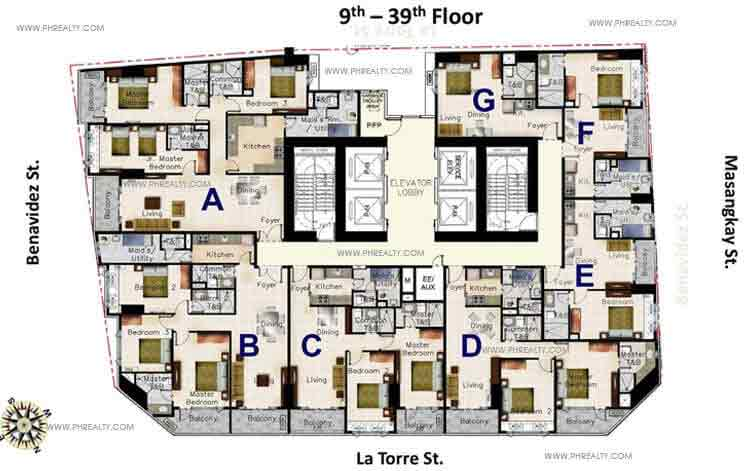 Oxford parksuites preselling condominium for sale in for Oxford floor plan