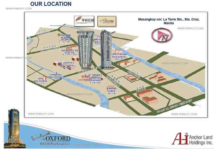 Oxford Parksuites - Location & Vicinity