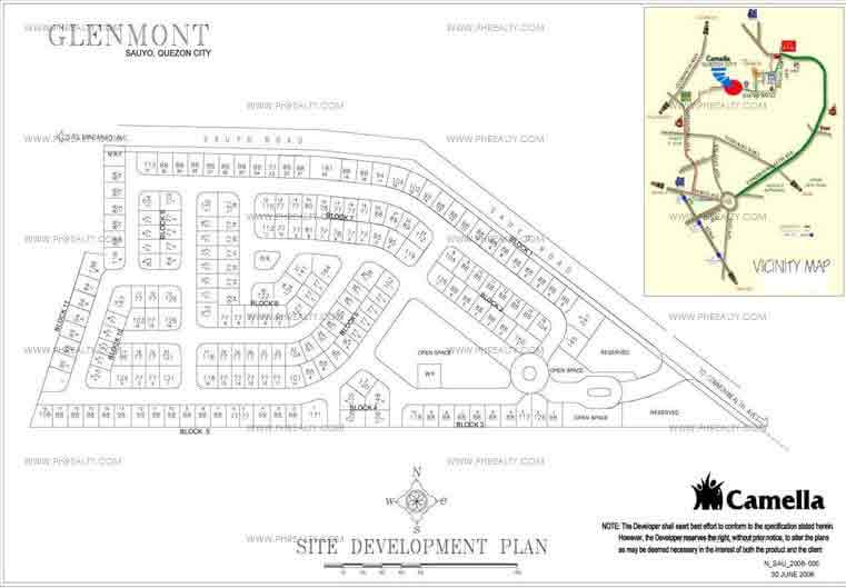 Glenmont - Site Development Plan
