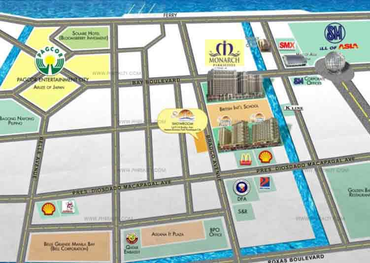 Monarch Parksuites - Location & Vicinity