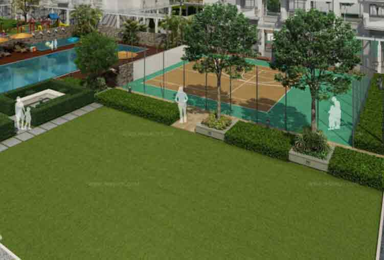 Monarch Parksuites - Sport Court & Lawn