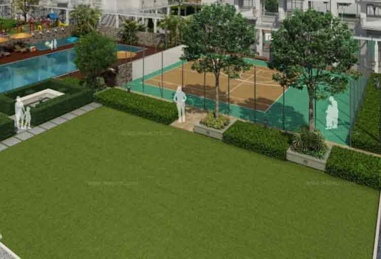 Monarch Parksuites - Sport Court & Lawn