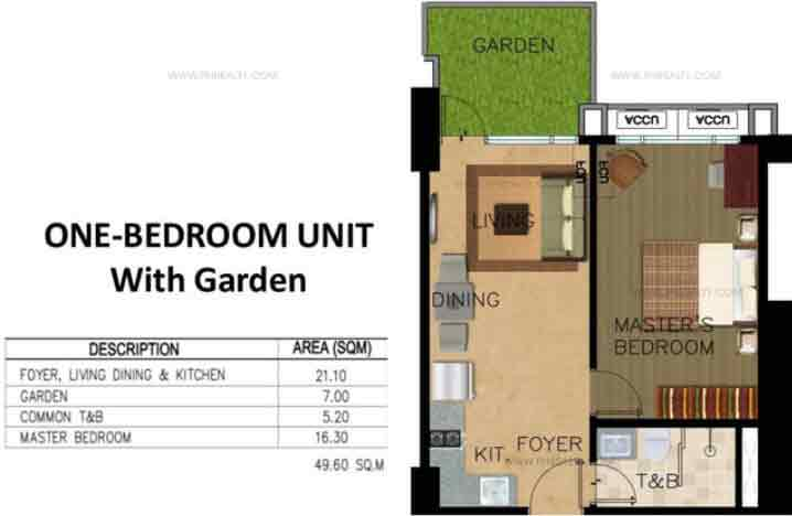 Monarch Parksuites - Unit 1 - Bedroom