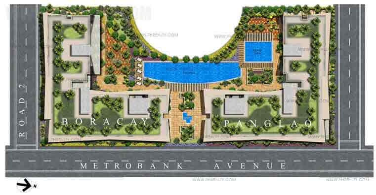 Palm Beach Villas - Building Plan
