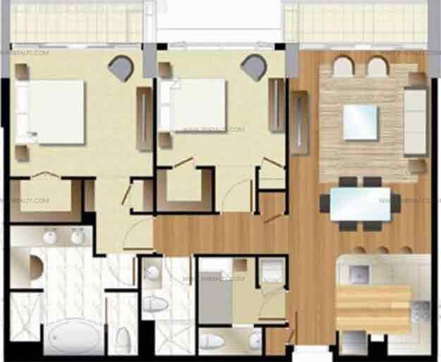Arezzo Place - Two Bedroom