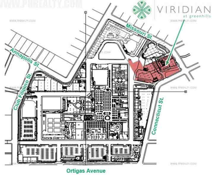 Arezzo Place - Vicinity Map