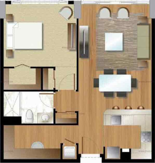 Arezzo Place - One Bedroom