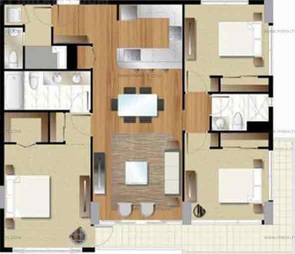 Arezzo Place - Three Bedroom