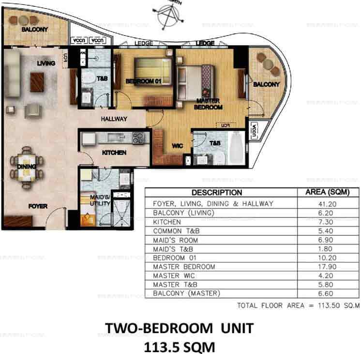 Clairemont Hills - Two Bedroom Units
