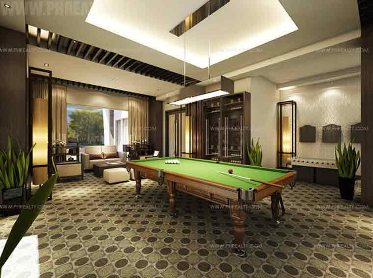 Clairemont Hills - Billiard Room