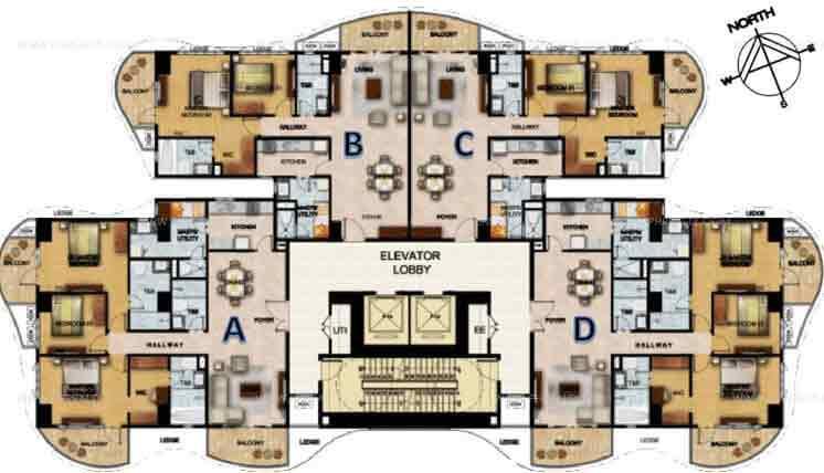 Clairemont Hills - Floor Plans