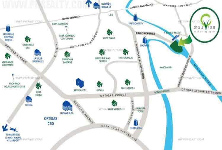 Circulo Verde Garden Homes - Location & Vicinity