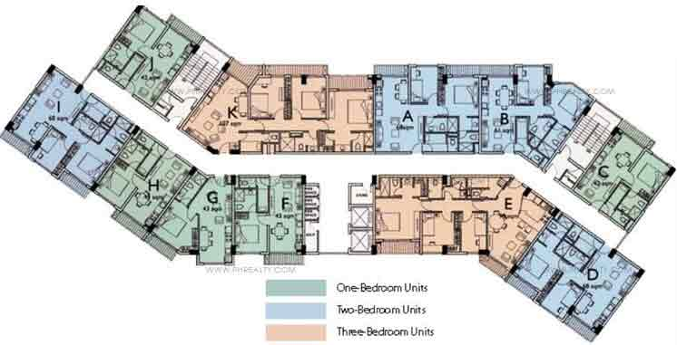 Aurora Escalades - Typical Floor Plan
