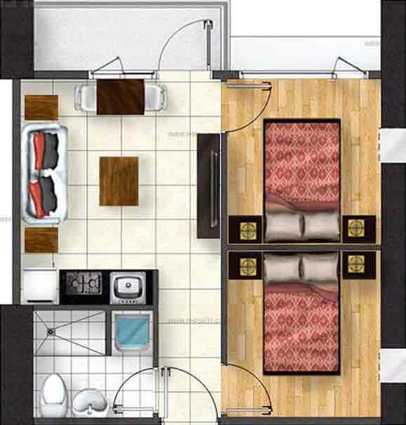 Avila North Tower - Two Bedroom