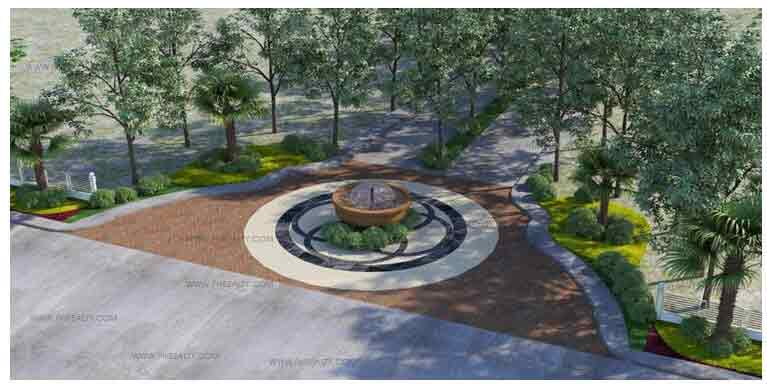 NuVista San Jose - Landscaped Main Entrance