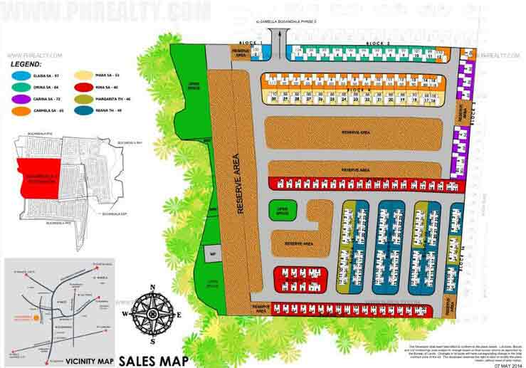 Camella Bucandala - Site Development Plan