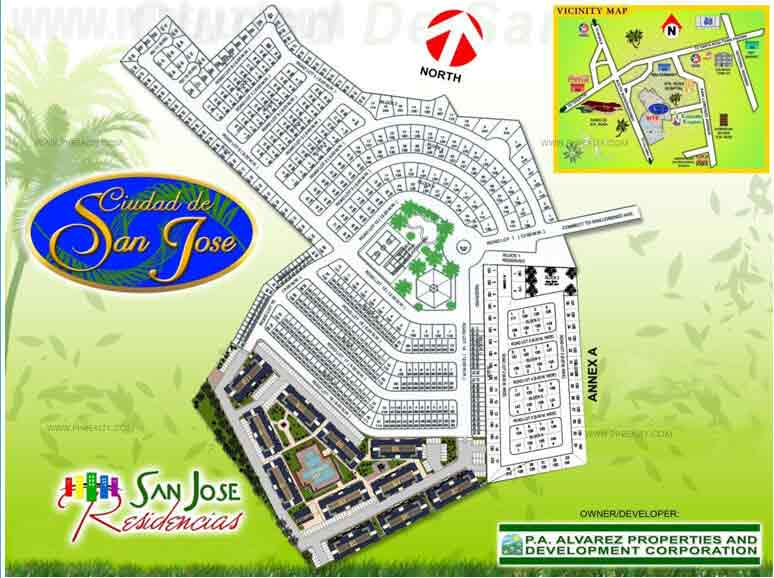 Ciudad de San Jose - Site Development Plan