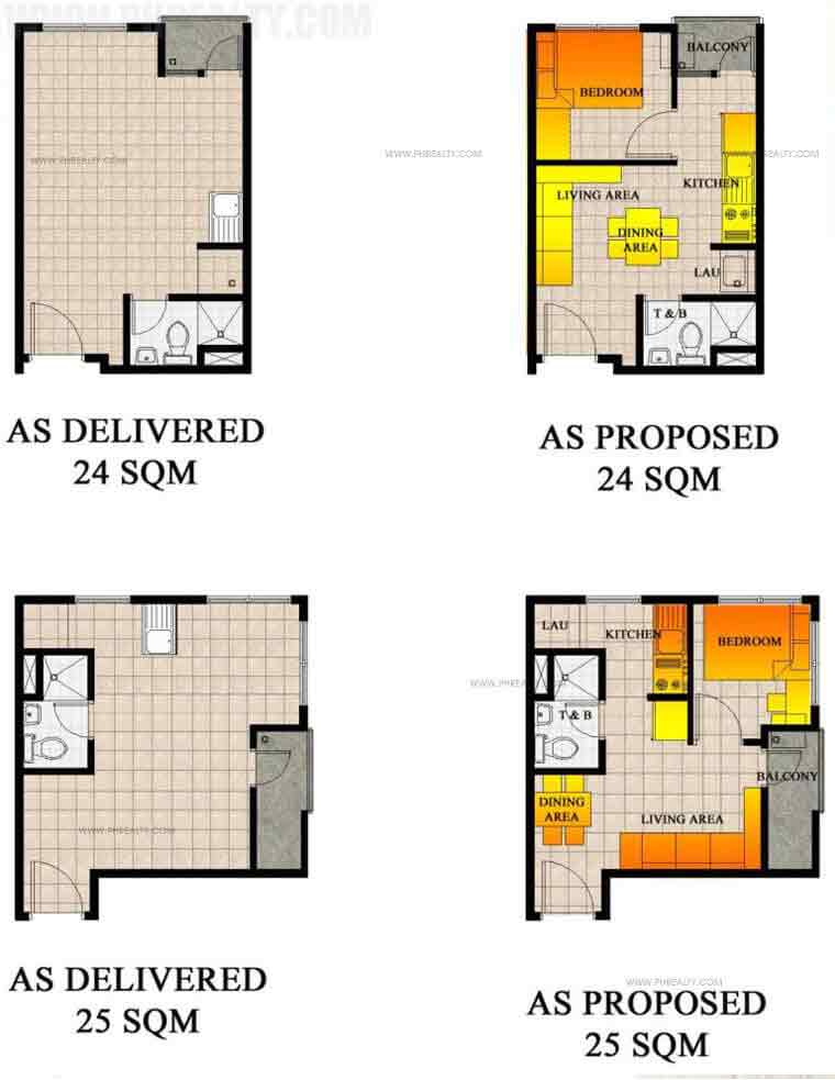 San Jose Residencias - Typical Floor Plan