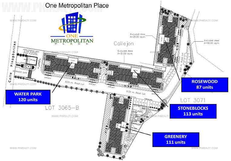 One Metropolitan Place - Building Plan