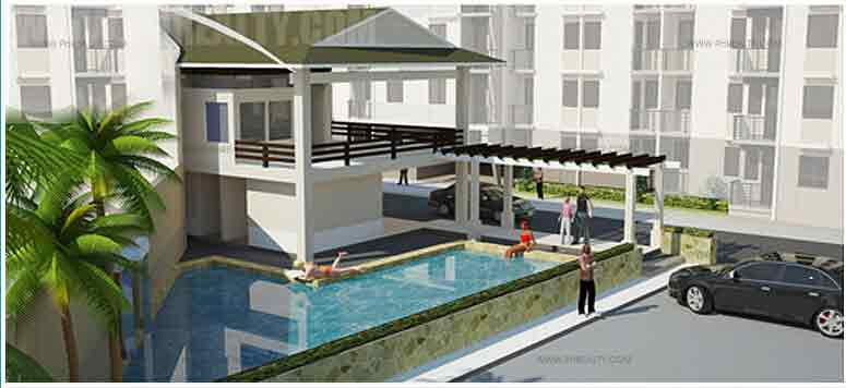 One Metropolitan Place - Clubhouse & Swimming Pool