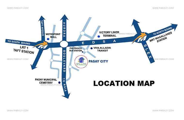 One Metropolitan Place - Location & Vicinity