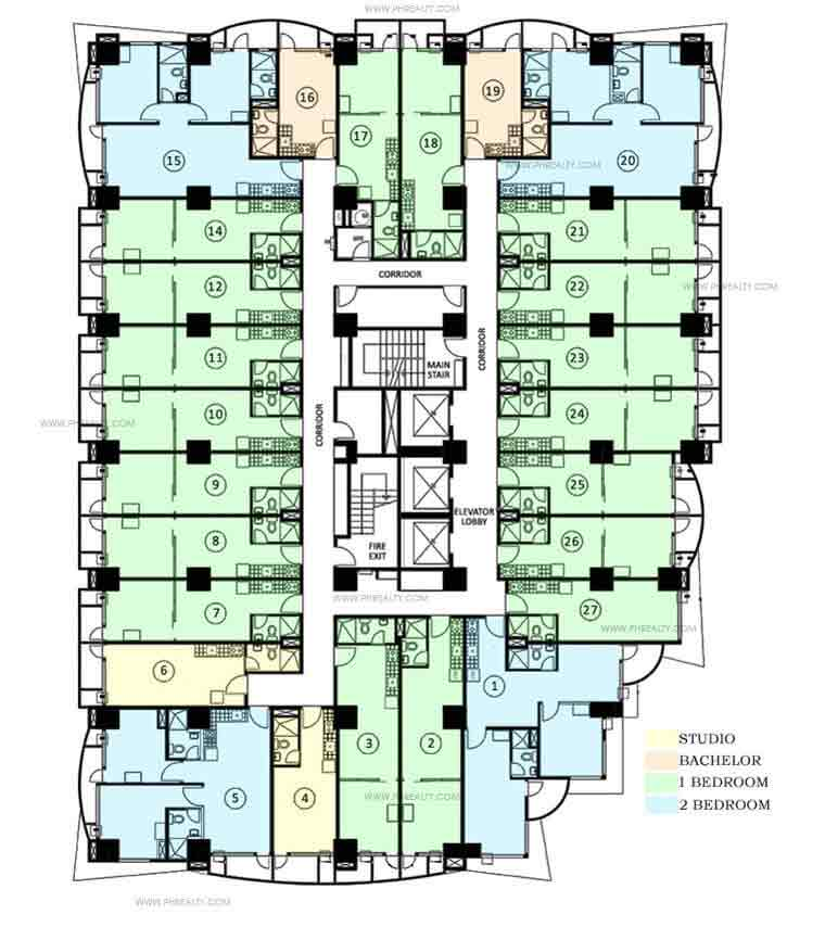 Makati Executive Tower lV - Floor Plan