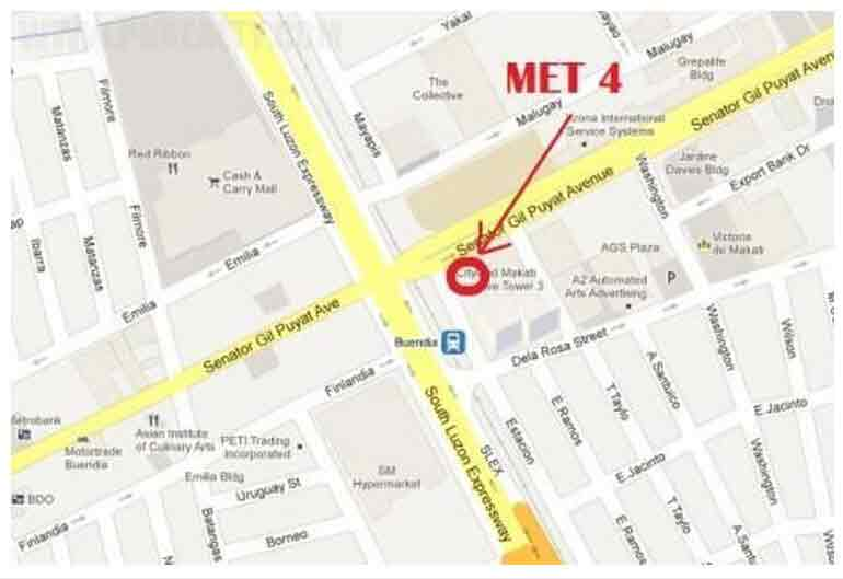 Makati Executive Tower lV - Location & Vicinity