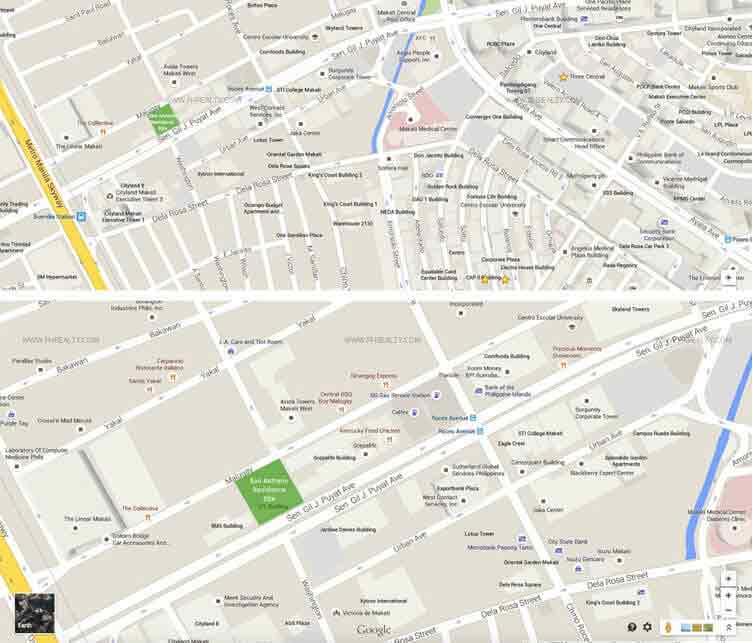 San Antonio Residences - Location & Vicinity