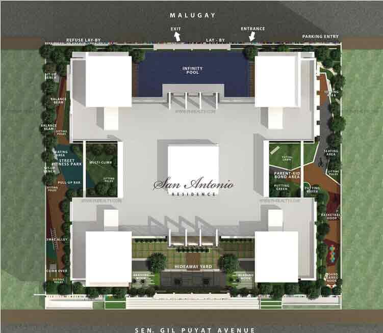 San Antonio Residences - Site Development Plan