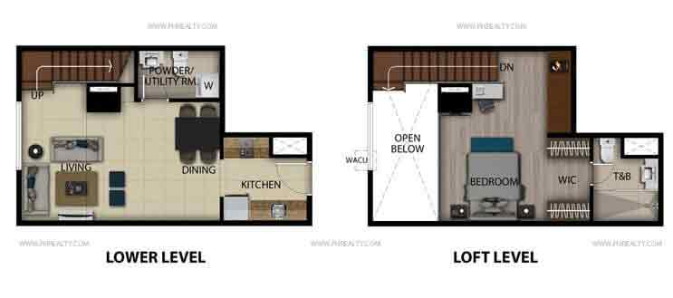 San Antonio Residences - Executives Studio Loft Unit B, K