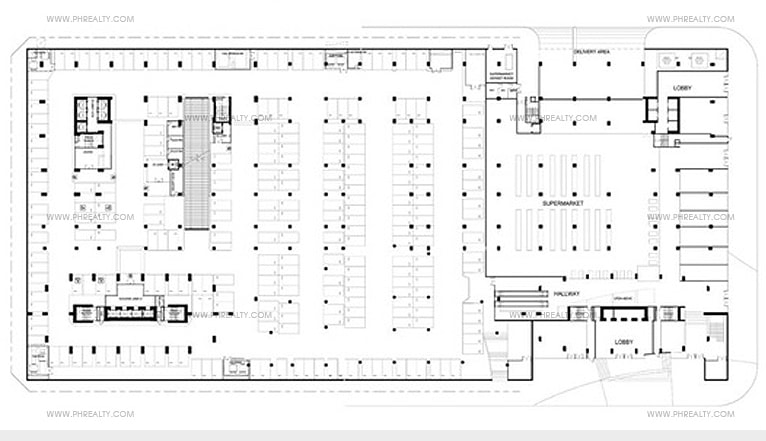 Times Square West - Basement Plan 2 & 3