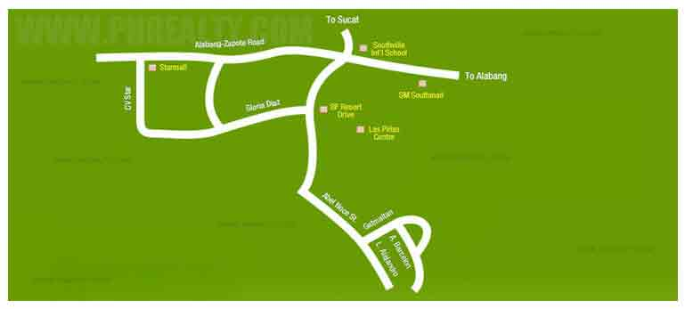 Tagaytay Prime Residences - Location & Vicinity