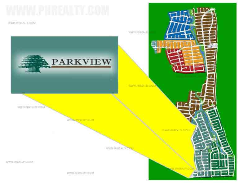 Parkview Ridge - Village Map