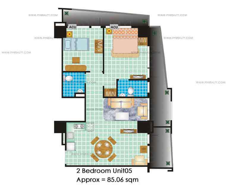 Grand Emerald Tower - 2 Bedrooms
