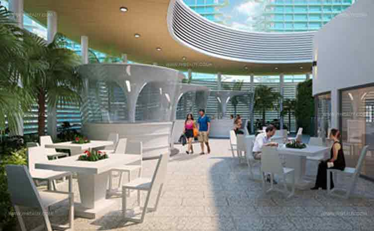 Azure Urban Resort Residences - Outdoor Restaurant