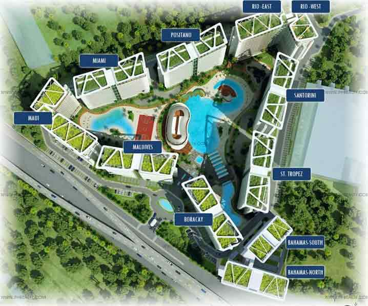 Azure Urban Resort Residences - Building Plan