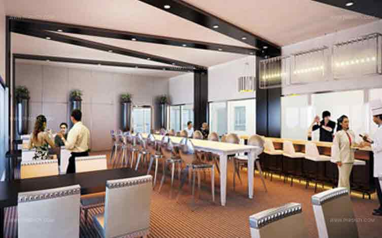 Azure Urban Resort Residences - Indoor Restaurant
