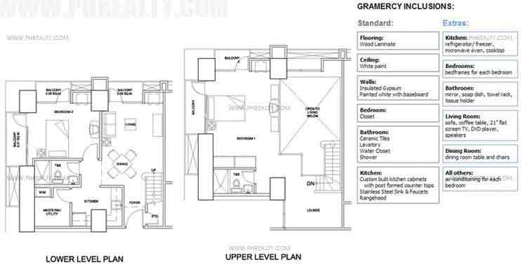 Gramercy - Two Bedroom Loft