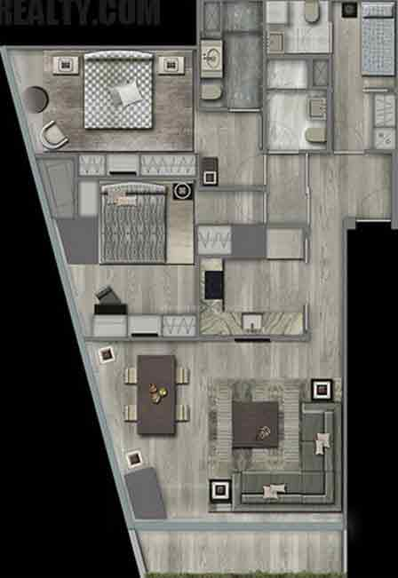 Century Spire - Two Bedroom