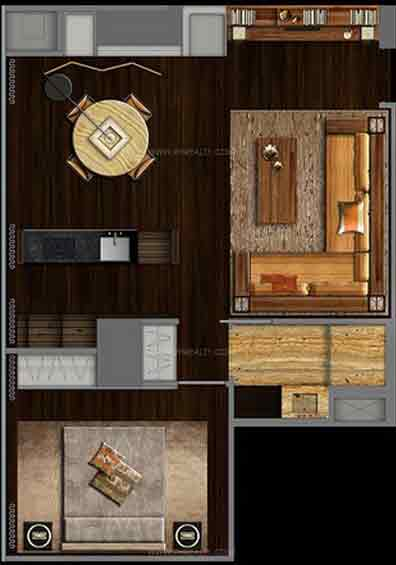Century Spire - One Bedroom