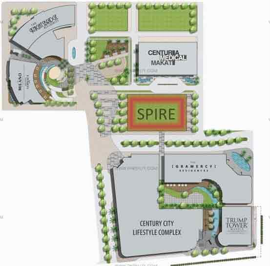 Century Spire - Site Development