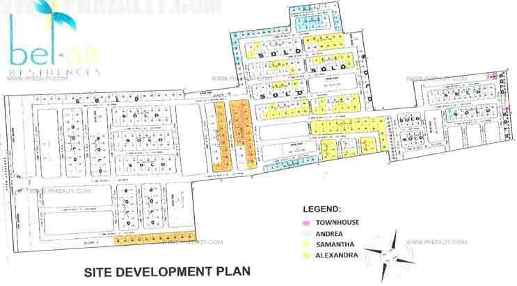 Bel Air Residences - Site Development Plan