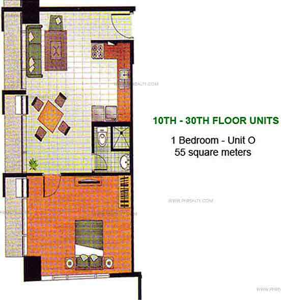W. H. Taft Residences - Studio - Unit C
