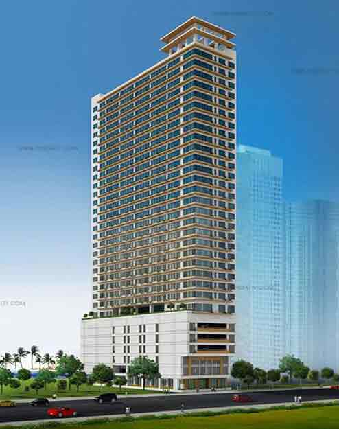 W. H. Taft Residences - Building Perspective View