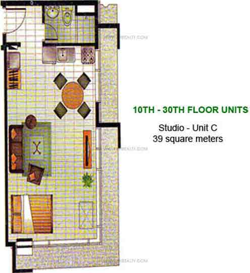 W. H. Taft Residences - 1 Bedroom - Unit O