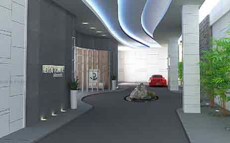 Elements Residences - Driveway