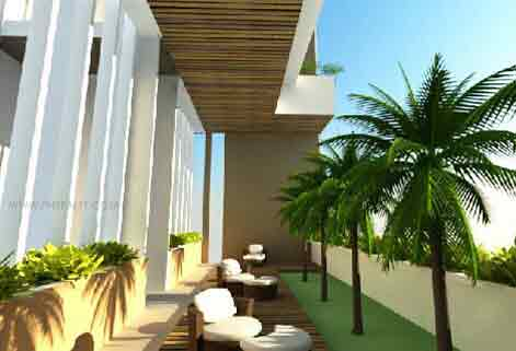 Elements Residences - Hanging Garden