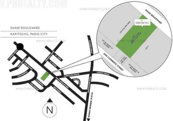 Elements Residences - Location & Vicinity