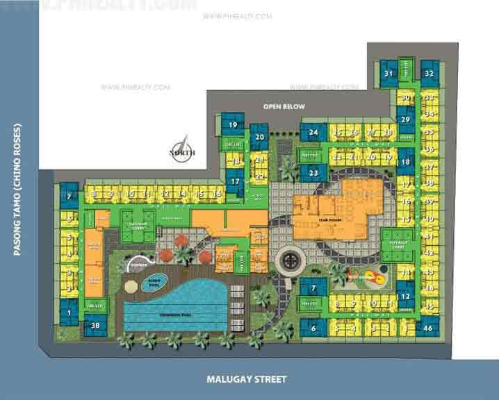 First Homes Makati - Amenity Floor Plan